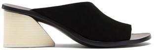 Mercedes Castillo Izar Block Heel Mule Sandal