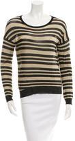Rag & Bone Metallic Striped Sweater