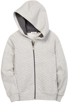Dex Quilted Front Hoodie (Little Boys & Big Boys)