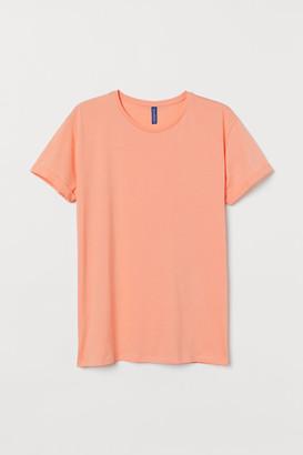H&M Cotton T-shirt - Orange