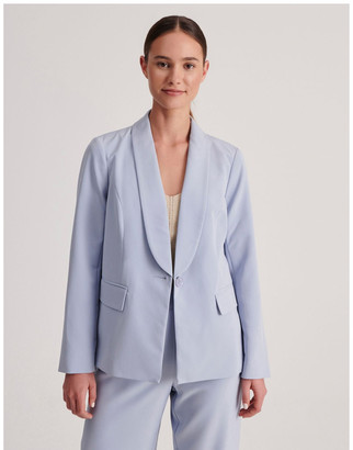Tokito Petites Tailored Single Button Blazer
