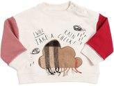 Burberry Cloud Patch Cotton Sweatshirt