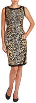Allison Daley Petite Sleeveless Printed Dress