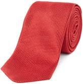 HUGO Textured Tonal Birdseye Tie