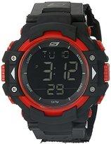 Skechers Men's SR1038 Digital Display Quartz Black Watch
