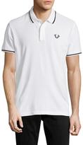 True Religion Spread Collar Cotton Polo