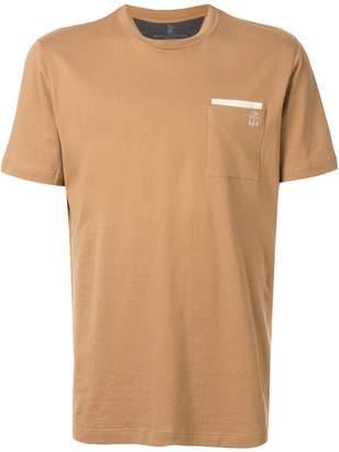 Brunello Cucinelli patch pocket T-shirt