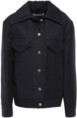 Nina Ricci Wool And Linen-blend Twill Jacket