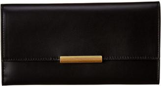 Bottega Veneta Leather Continental Wallet