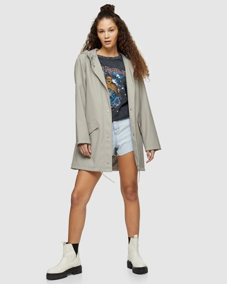 Topshop Rain Mac Jacket