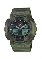 G-shock Ga100 Camouflage Resin Watch
