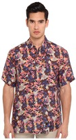Marc Jacobs Short Sleeve Tropical Floral Button Up