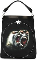 Givenchy Monkey Brothers shoulder bag - men - Leather/Polyamide - One Size