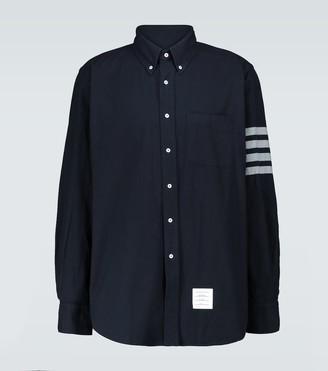 Thom Browne 4-Bar cotton long-sleeved shirt