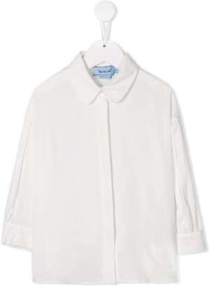 Mi Mi Sol Peter Pan collar shirt