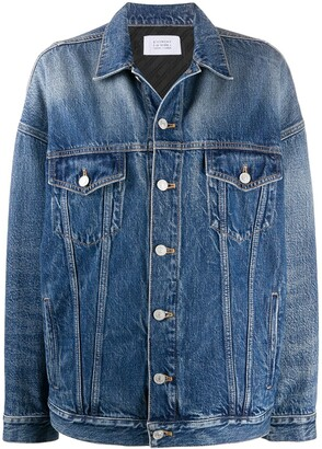 Givenchy Oversized Buttoned Denim Jacket