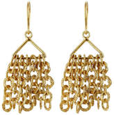 Pippa Small Gold Plated Silver Earrings