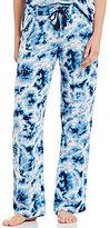 PJ Salvage Batik Tie-Dye Twill Sleep Pants
