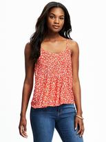 Old Navy Pleated Swing Cami for Women