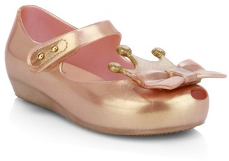 Mini Melissa Baby's, Little Girl's & Girl's Ultragirl Princess Flats