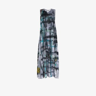 Collina Strada Ritual tie-dye maxi dress