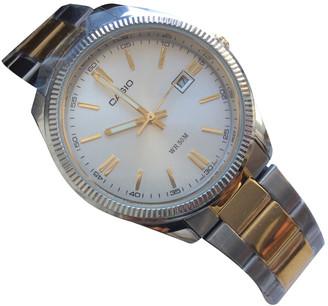 Casio Silver Steel Watches