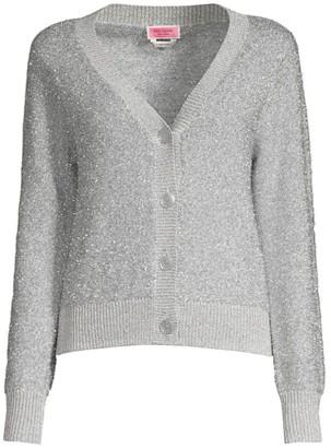 Kate Spade Sparkle Knit Cardigan