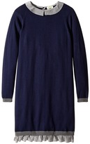 Fendi Dress w/ Logo Collar (Big Kids)