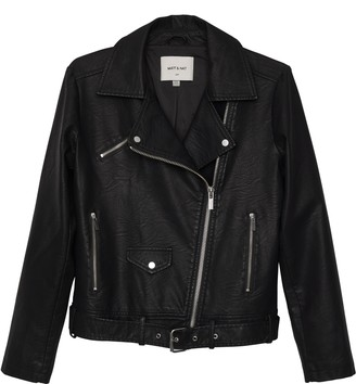 Matt & NatMatt & Nat DRADEN Vegan Leather Jacket - Black