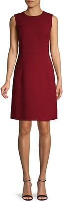 Lafayette 148 New York Sleeveless Wool Sheath Dress