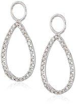 "KC Designs Charmed Life"" Diamond 14k White Gold Pear Shape Ear Charm"