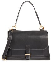 Mulberry 'Small Buckle' Leather Shoulder Bag - Black