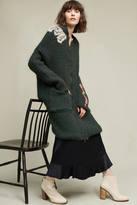 Of Handmade Embroidered Serpentine Sweater Coat