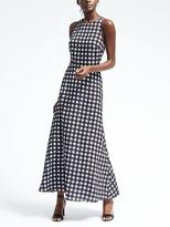 Banana Republic Gingham Maxi Dress