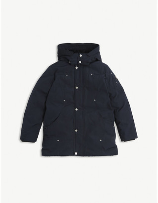 Moose Knuckles Poly-cotton parka coat 7-16 years
