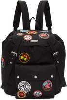 Saint Laurent Black Noe Patch Backpack