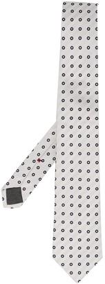 Brunello Cucinelli Dotted Pointed Tie