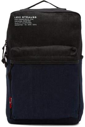 Levi's Levis Blue Denim Backpack
