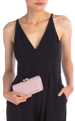 Ted Baker Josiey Bobble Scripted Leather Clutch