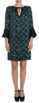 Liu Jo Women's Green Polyester Dress.