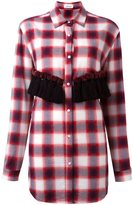 Au Jour Le Jour checked tassel detail shirt - women - Cotton/Polyester/Viscose/Wool - 40