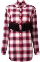 Au Jour Le Jour checked tassel detail shirt - women - Viscose/Wool/Cotton/Polyester - 40