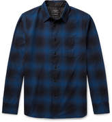 Rag & Bone Beach Checked Cotton-Twill Shirt