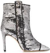 Bams sequin-embellished ankle boots