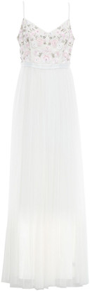 Needle & Thread Embellished Crepe And Tulle Gown