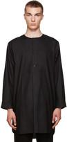 Phoebe English Black Cotton Night Shirt
