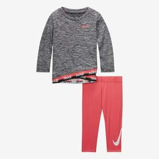 Nike Baby Top & Leggings 2-Piece Set Dri-FIT