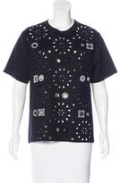 Marc Jacobs Cashmere-Blend Embellished Top