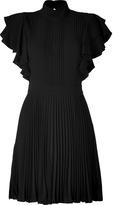 Paul & Joe Black Pleated Darius Dress