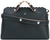 Fendi metallic embellished shoulder bag